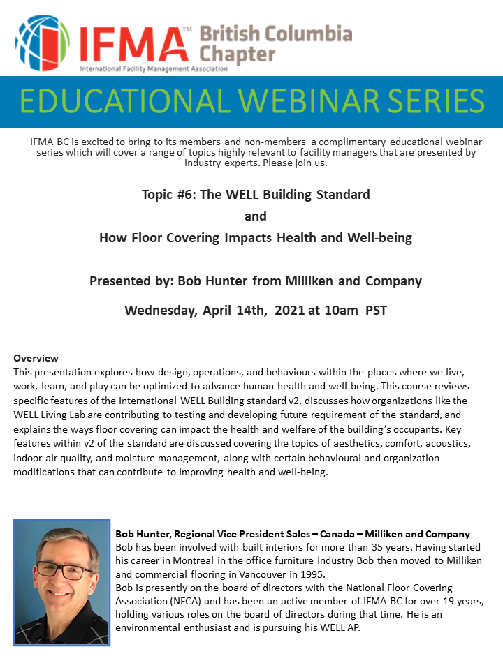 EDUCATIONAL WEBINAR SERIES #6 - WELL and Floor Covering